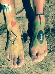 Boardwalk - Beach Feet