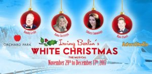 at kelowna actors studio were counting their blessings on wednesday november 29th as they opened their 19 show run of irving berlins white christmas - Actors In White Christmas