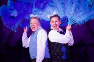 randy leslie and nathan flavel as bob wallace and phil davis - Actors In White Christmas